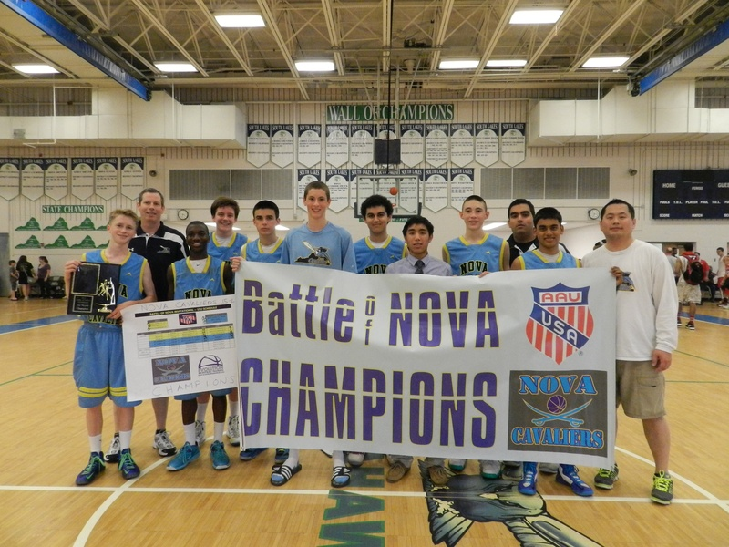 15U Champions (NOVA Cavaliers)
