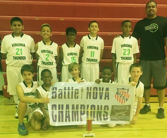 10U Champion - Virginia Thunder