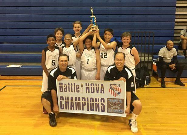 11U Blue Champions - NOVA Heat