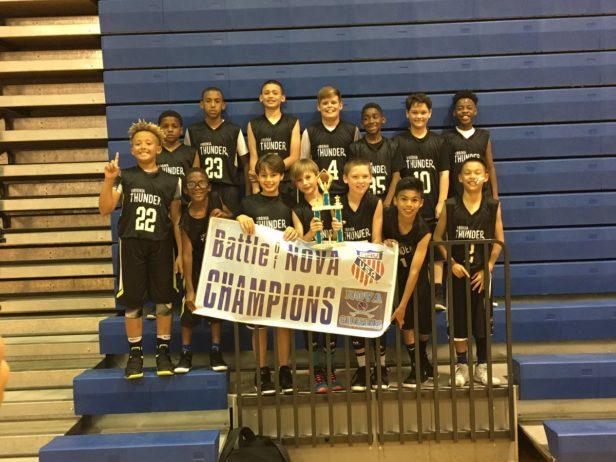 11U Gold Champions - VA Thunder