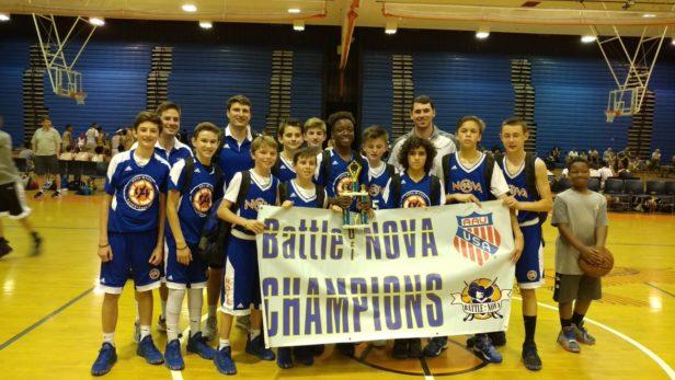 13U Blue Champions - NOVA 94ft Blue